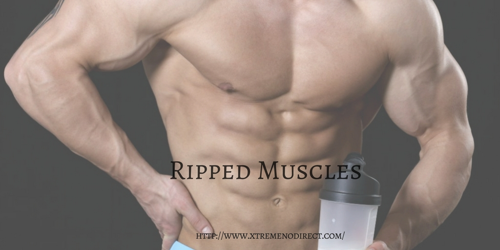 Nitric oxide for ripped muscles