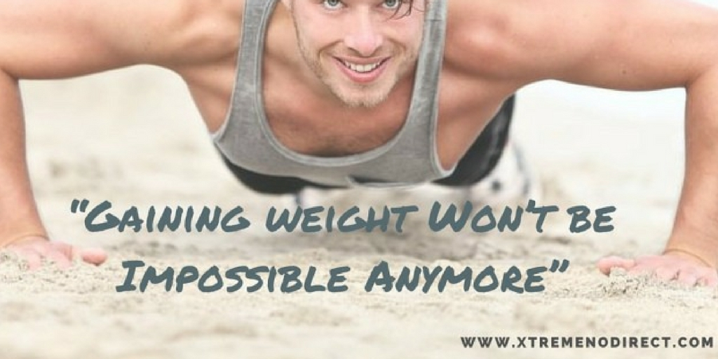Gaining weight won't be impossible anymore