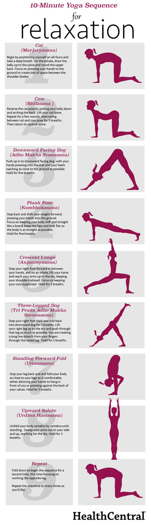Yoga Sequence for Relaxation