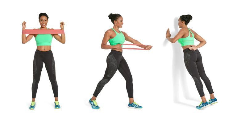 Arm Resistance Band Exercises -min