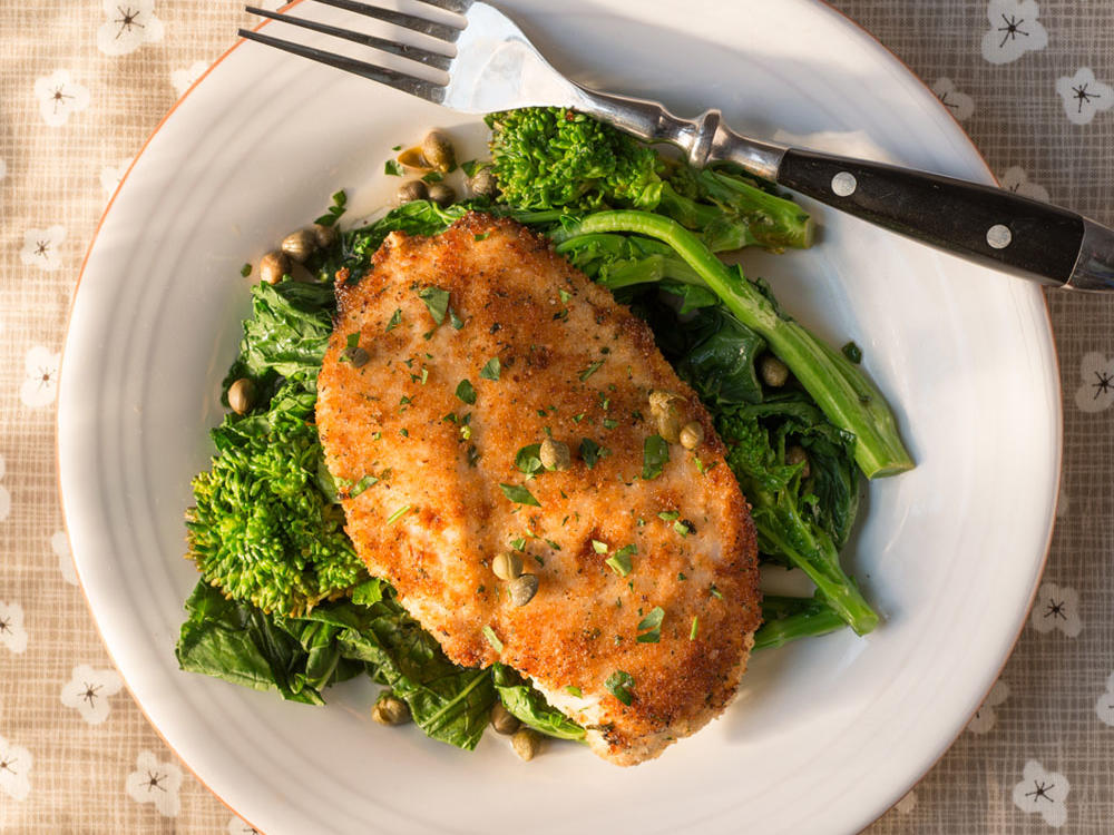 Chicken breast with broccoli