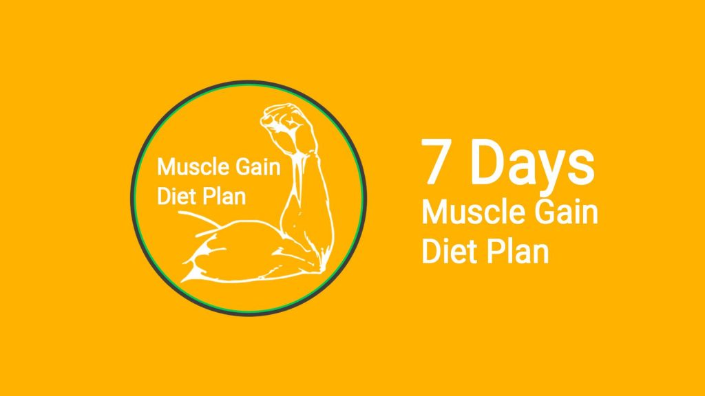 7 days bodybuilding meal plan